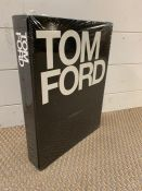 Tom Ford book, hard cover complete catalogue of Ford's design work for both Gucci and Yvessaint