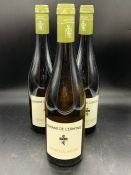 Three bottles of Domaine De L'ermitage Menetou-salon 2013 Sauvignon Blanc