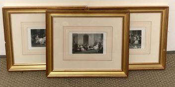 'Convalescence', 'A French Marriage' and 'A Parisian Family' etchings.