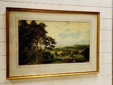 JOHN FAULKNER (Irish 1835-1894) watercolour of St Georges Hill