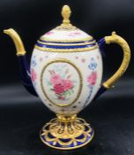 A House of Faberge Decorative Teapot.