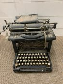 A Remington vintage type writer