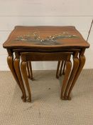 Chinoiserie nest of tables