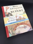 """""""More Adventures of Rupert"""" Children's book with pictures. Facsimile Edition 1937."""