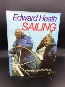 """""""Sailing"""" Book by Prime Minister Sir Edward Heath. Signed edition."""