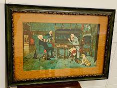 Illustration by Cecil Charles Windsor, British artist 1870-1935