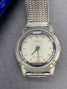 Two fashion watches, one by Casio