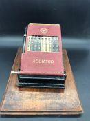The Addiator, a vintage calculating machine.