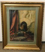 Beatrice A Fairless (1883-1943) A Still Life, watercolour.