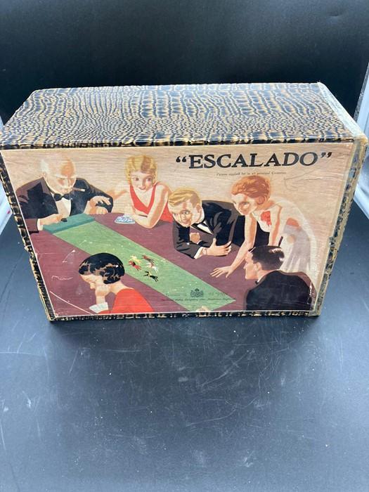 A vintage Escalado Chad Valley game, partially boxed, - Image 4 of 4