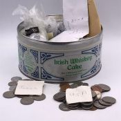 A Selection of coins from a variety of countries, denominations and conditions.