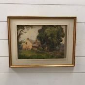 """Stacey Blake (act.1891-1939) British, """"Newtown-Lindford"""", signed and titled lower left, watercolour,"""