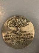 A Collectable Italian Bank Medallion.