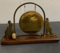 A Vintage Brass Gong