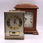 Two mantle clocks by Smith and Seiko
