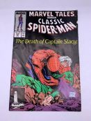 """Marvel Tales Classic Spider man """"The Death of Captain Stacy"""" comic"""