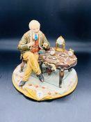 "A Capodimonte figure ""Watchmaker"""