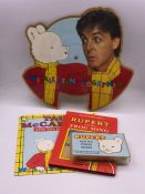 A Limited Edition picture disk Paul McCartney with Rupert Bear 'We All Stand Together' along with