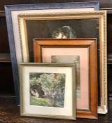 "A collection of prints, comprising ""Senora Sabasa Garcia"" by Francisco de Goya (held at the NGA in"