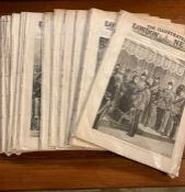 """""""The Illustrated London News"""", A very large lot of magazines all dating 1882 and comprising July ("""
