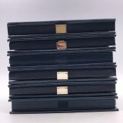 A Selection of six royal Mint Year Proof Coin Collections for 1983, 1984, 1985, 1987, 1992 and