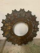 A Portuguese 18th century copper frame, marked BICO