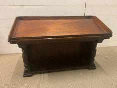 An early 19th Century Mahogany Table Lectern. (H52cm W80cm D39cm)