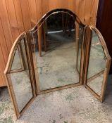 An art deco mirror