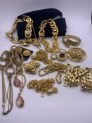 A Large volume of quality costume jewellery
