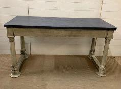 An Early 19th Century Console Table (H74cm W139cm D61cm)