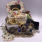 A Large volume of costume jewellery
