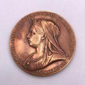 1837-1897 Great Britain - Queen Victoria's Diamond Jubilee Medallion (Diam 5.5cm)