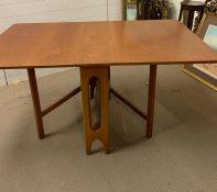 A Mid Century Drop Leaf Table