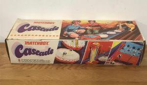 A boxed Matchbox Cascade bouncing ball game