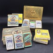 Cigarette Cards: A Selection of Cigarette cards various makers and themes to include Motor Cars,