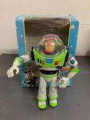 A Buzz Lightyear figure