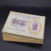 Cigarette Cards: A Selection of seven cigarette card complete albums, John Player & Sons 'Aeroplanes