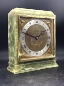 A Charles Fox Bournemouth marble clock