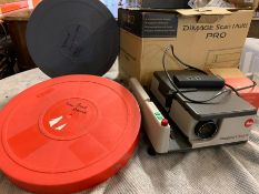 Two show reels and two projectors
