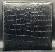 A boxed Mulberry A4 deluxe photo album (34 cm x 34 cm)