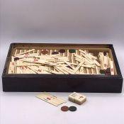 An Vintage Mahjong set