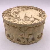 An Antique Ivory Pot