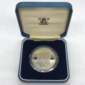 A Silver Proof coin commemorating the marriage of Prince of Wales and Lady Dian Spencer