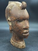 A Nigerian Carved Head