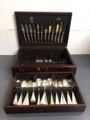 An Arthur Price Eight Place setting canteen of cutlery.