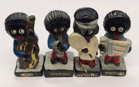 Four vintage Robertson figurines