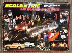 A Scalextric Le Mans 24 hours complete set