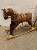 A children's rocking horse