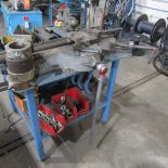 Parker Model 824 Bench Top Pipe/Tube Bender; with Cart