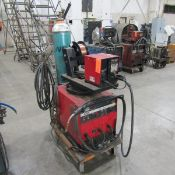 Lincoln-Electric 300-Amp Model CV-300 Welder, S/N: UI990702467